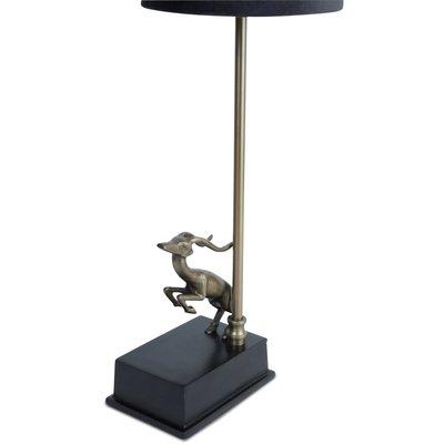 Antilope lampefot H40 cm - Antikk Messing