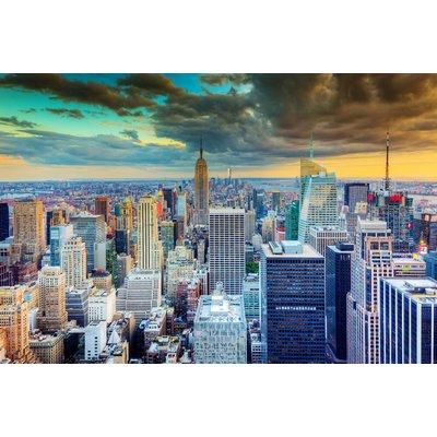 Glassbilde New York - 120x80 cm