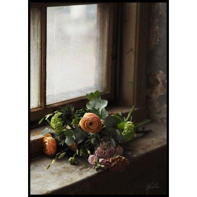 FLOWER BOUQUET COLOR - Plakat 50x70 cm