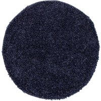 Ryeteppe Shaggy Lux - Denimblå