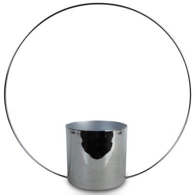 Krukke Bågen H45 cm - Krom