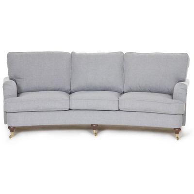 Howard Watford Deluxe 4-seters buet sofa - Grå