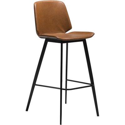 Swing barstol - Vintage lysbrun