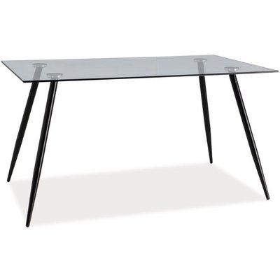 Spisebord Patricia 140 cm - Sort