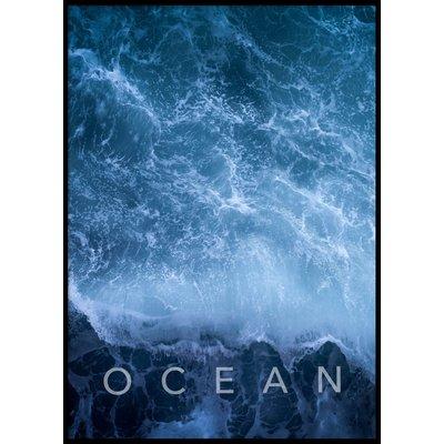OCEAN - Plakat 50x70 cm