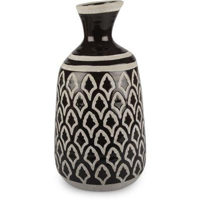 Vase Rustica stor - Svart