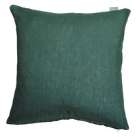 Harmony Linne putetrekk 45x45 cm - Grønn