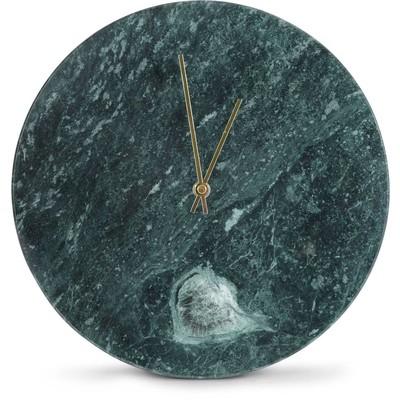 Klokke Marmor - Grønn