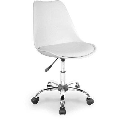 Caroline skrivebordstol - Hvit