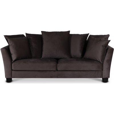 Arild 2,5-seters sofa med konvoluttputer - Muldvarp