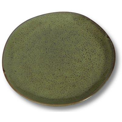 Dreietallerken 4 st i et sett - Grønn