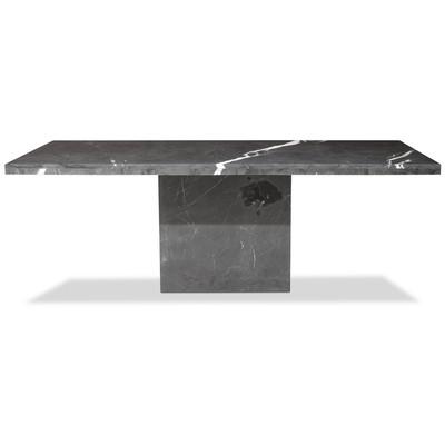 Pegani spisebord i marmor - 215x110 cm