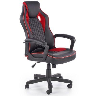 F1 gamingstol - Svart/rød