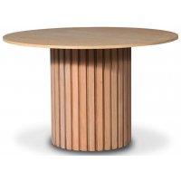 PiPi rundt spisebord Ø120 cm - Oljet eik