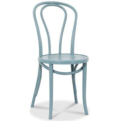 Bentwood Stol No18 Klassiker - Lysblå