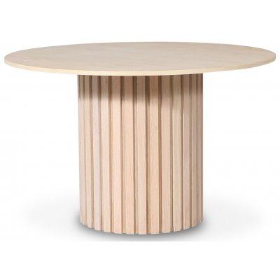 PiPi rundt spisebord Ø120 cm - Whitewash