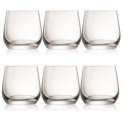 Sontell wiskeyglass i krystall - 6 stk