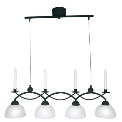 Florens taklampe - Svart/hvit