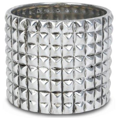 Krukke Nagler H19 cm - Sølv