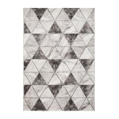 Maskinvevd teppe - Craft Trendy Sølv