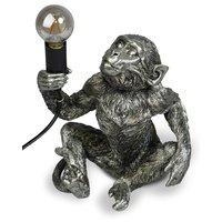 Monkey Bordlampe H23 - Sølv