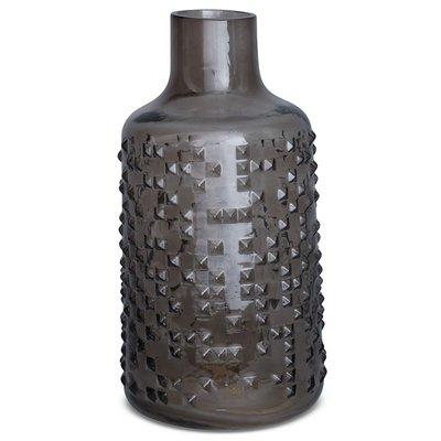 Vase Circle H30 cm - Gråtone