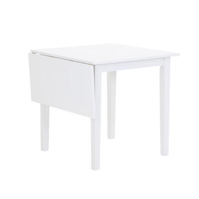 Sander bord med klaff - Hvit - 75 / 110 cm