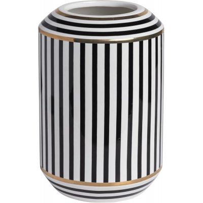 Disa vase høy - Svart/hvit