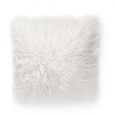 Shansi putetrekk fåreskinn - Hvit