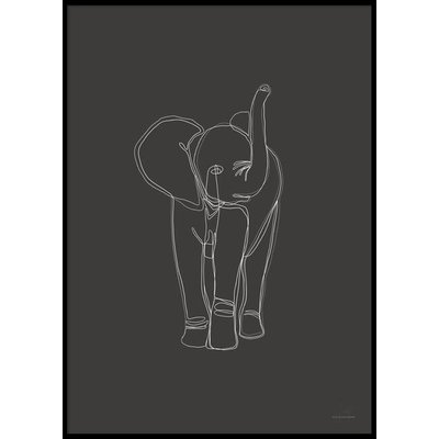 DIGITAL ELEPHANT - Plakat 50x70 cm