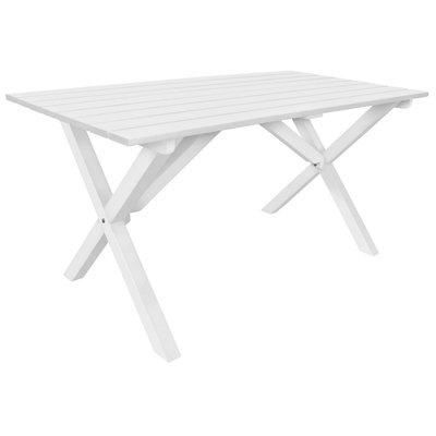 Spisebord Scottsdale 150 cm - Hvit
