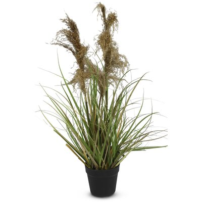 Kunstig plante - Gress/Pampasgress H94 cm