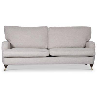 Howard Watford Deluxe 3-seter rett sofa - Sand