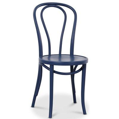Bentwood Stol No18 Klassiker - Mørkeblå