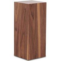 Pidestall LineDesign wood 60 cm - Valnøtt