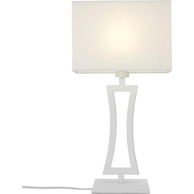 Belgravia bordlampe - Hvit
