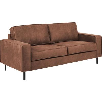 Sandö 2,5-seter sofa - Cognac økolær