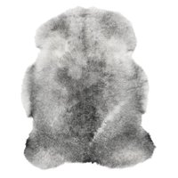 Nelly økologisk lammeskinn - Grå