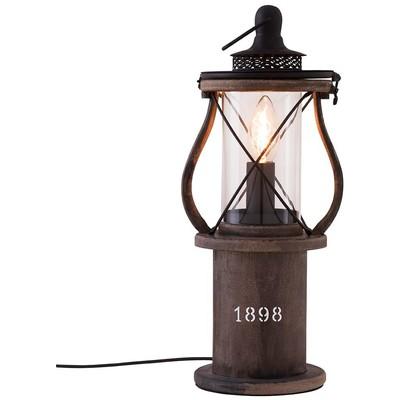 1898 bordlampe - Mørke tre