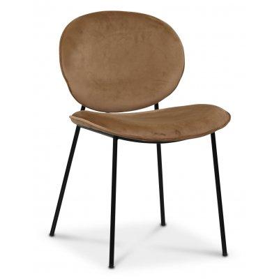 Rondo stol - Brun (Fløyel)