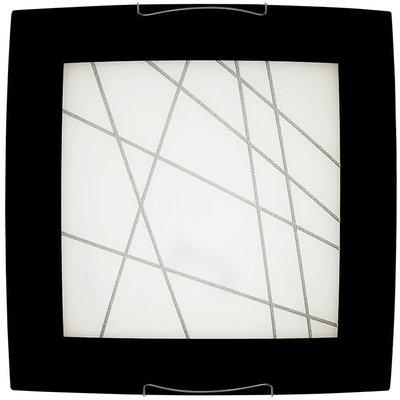 Ritz himling - Svart/glass