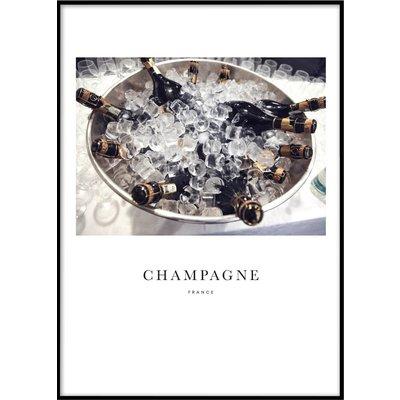 CHAMPAGNE - Plakat 50x70 cm