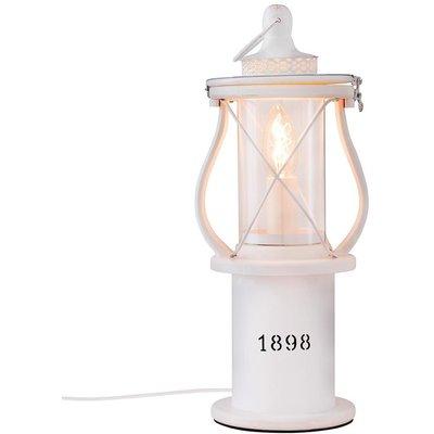 1898 bordlampe - Hvit