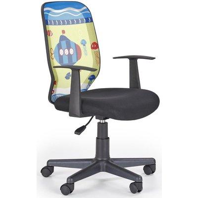 Tea Submarine kontorstol til barn - Gul/svart