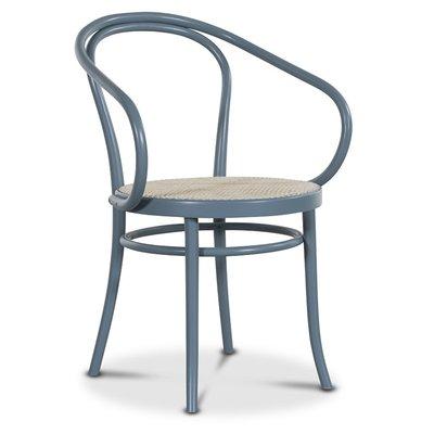Bentwood karmstol No30 Klassiker - Pastellblå/Rotting