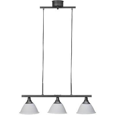 Arn taklampe - Hvit/tinn