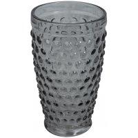 Boble drikkeglass (røkt glass) 400ml - 6-pakning