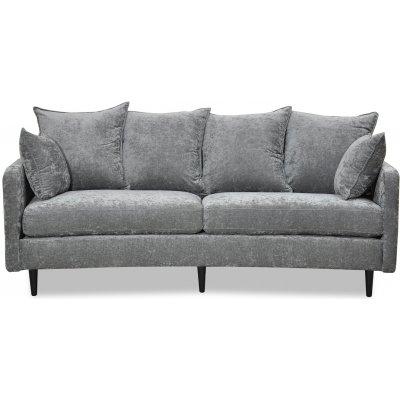 Gotland 3-seter buet sofa - Oxford mørkegrå