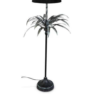 Palma lampefot H90 - Sølv