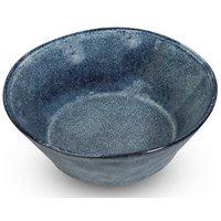 Keramikk dessertfat 4 stk i et sett - Blå